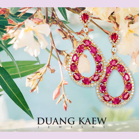 Duang Kaew Jewelry features new designs at Thailand Gems & Jewelry 2017