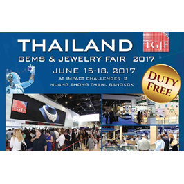 Success at the Thailand Gems & Jewelry Fair (TGJF) 2017