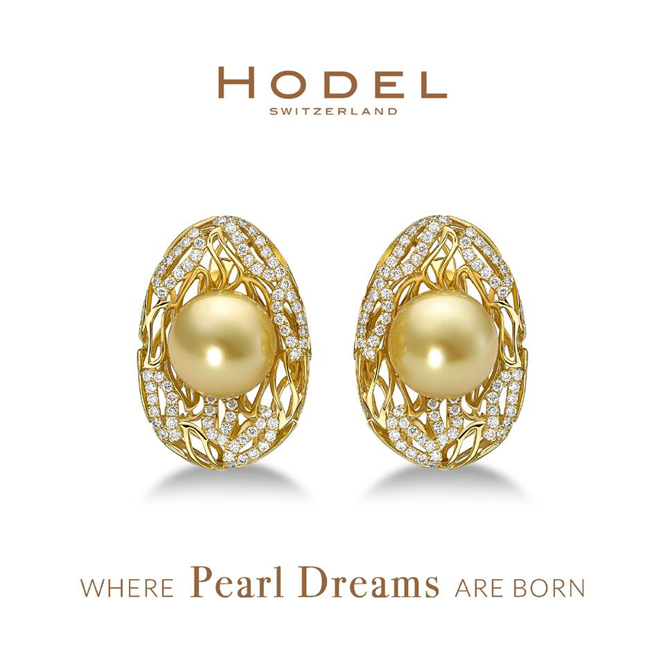 Earrings from Hodel