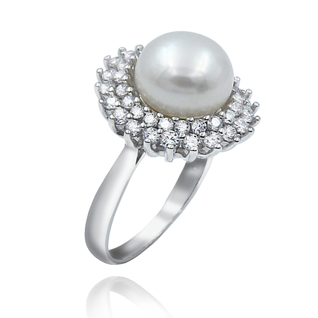 Pearl Jewelry with Silver