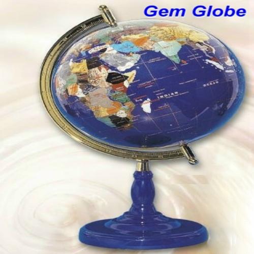 Lapis Gem Globe
