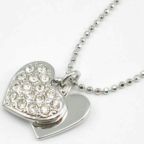 Double-heart Necklace