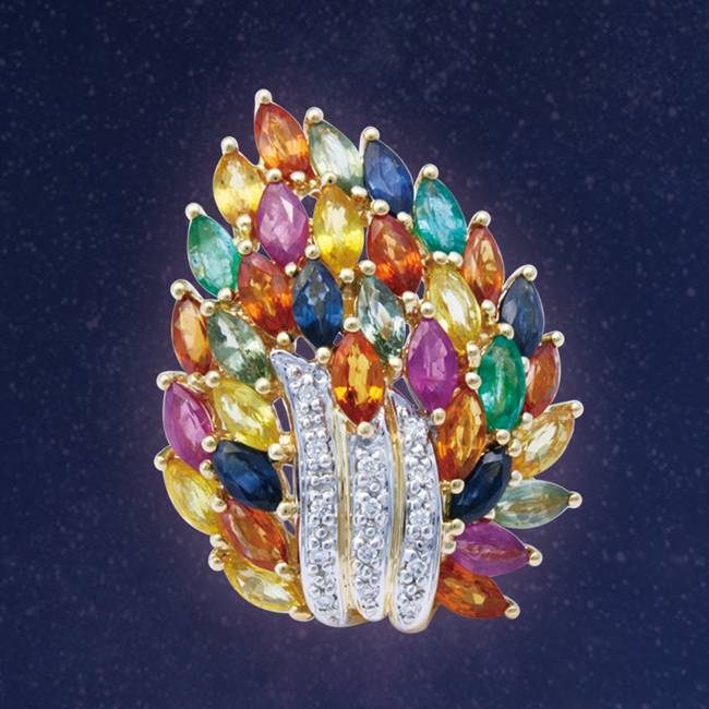 Coloured Gemstone Jewelry