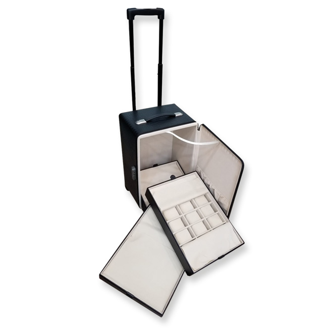 Luggage with trays for Watch